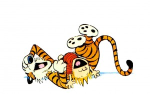 Hobbes starred in the Calvin and Hobbes comic strip by Bill Watterson for a decade.