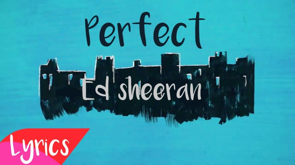 Listen and vote first spin friday ed sheeran perfect kiss first spin friday ed sheeran perfect stopboris Images